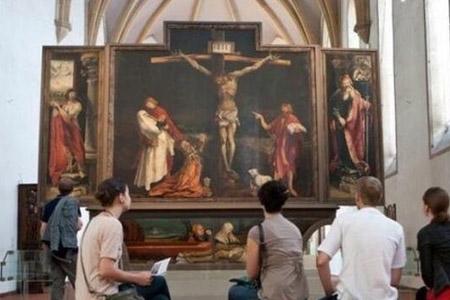 伊森海姆祭坛画的作者之谜,祭坛画作者是谁(疑似马西斯)