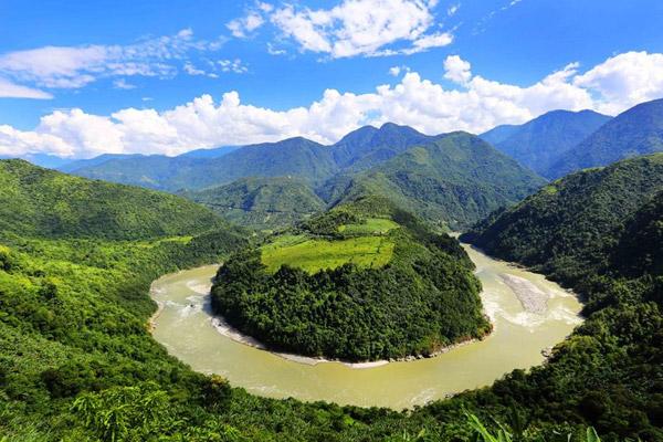 世界上落差最大的河流,雅鲁藏布江落差5590米