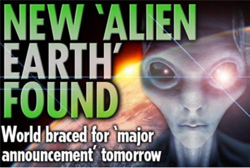 """科学家发现""""另一个地球"""" 上面可能有外星生命存在"""