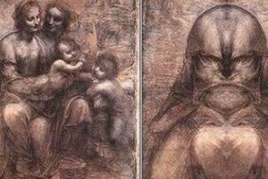 揭秘画作中的上帝之脸,达芬奇画作惊现耶和华头像/圣经