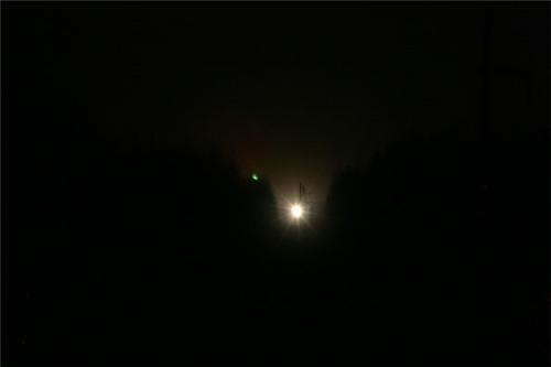 森林里频现神秘白光多年始终无解 有人怀疑是UFO的光源