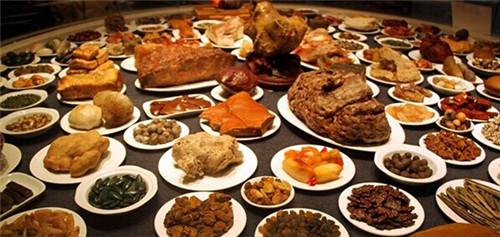 什么是满汉全席,都有什么菜?满汉全席108道菜名和来历起源
