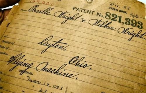 莱特兄弟飞机专利离奇失踪 36年后在山洞被发现