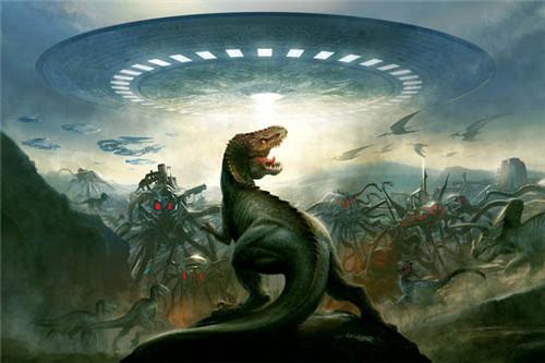 恐龙灭绝之谜:恐龙是怎么灭绝的 什么原因造成恐龙灭绝