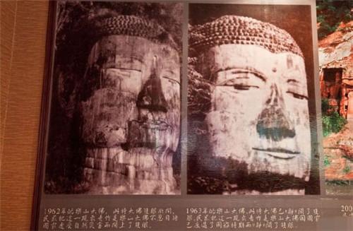 四川乐山大佛显灵的传说和乐山大佛闭眼流泪事件真相[图]