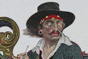 世界十大海盗之一威廉·基德,曾是战争英雄最终被处以绞刑
