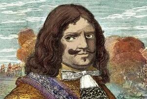 17世纪著名海盗亨利·摩根,23岁当海盗首领晚年成为富豪
