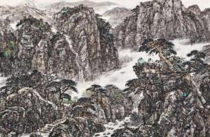 庐山观瀑图35.9亿真迹是谣言,唐伯虎的画最高是7000多万