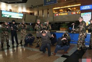 哈尔滨机场恐怖事件真相,实则一场反恐演习(造谣者被抓)