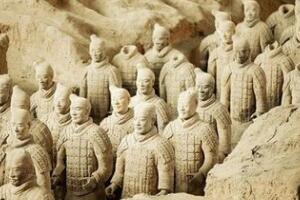 秦始皇陵兵马俑脸型之谜,神秘兵马俑代表十个不同汉字
