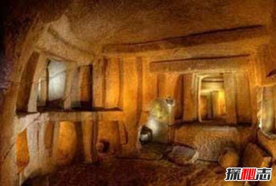 马耳他岛地下洞穴之谜,上下交错的多层房间(奇特建筑)