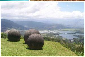 哥斯达三角洲石球之谜,重16吨巨型石球竟是外星人制作