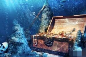 大西洋神秘喷宝之洞,地下洞穴不断喷出奇珍异宝/地下宝库