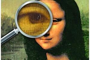 蒙娜丽莎眼中达芬奇密码之谜,蒙娜丽莎肖像暗藏神秘符号