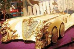 盘点世界上最贵的车排行:第一价值28.5亿元(通体黄金打造)