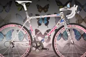 世界上最高档自行车品牌排行,蝴蝶版自行车售价50万美元