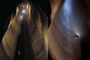 世界上最深的洞穴,库鲁伯亚拉洞穴(深2197米的无底洞)