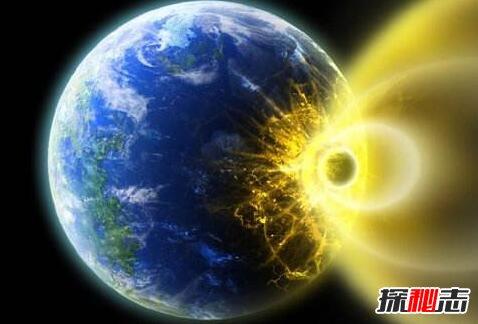 小行星撞击地球导致什么灭绝图片