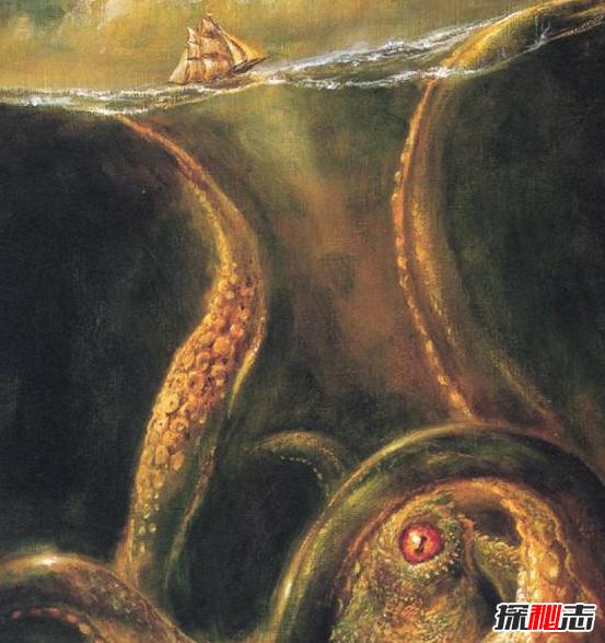 比蓝鲸大100倍的生物:北海巨妖-克拉肯(真实存在)