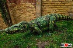 史前恐怖巨兽 吃恐龙的鳄鱼猪鳄(立体视觉)