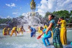布朗族的传统节日 布朗族傣历六月份过新年(景比迈节)