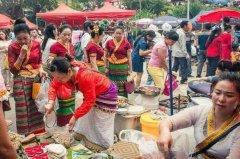 德昂族的传统节日 泼水节是最隆重的传统节日(独特民族文化)