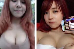 泰国最胸女主播乳摇视频,摇乳53秒20万人围观(鼻血直喷)