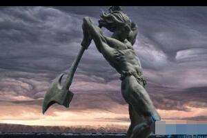 中国上古十大魔神实力排行,盘古开山斧最厉害(图片)