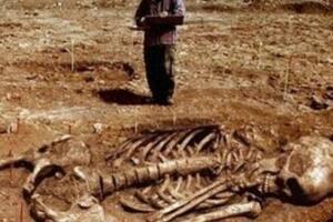 考古界不敢公开的秘密,考古发现5米巨人遗骸吓坏世人