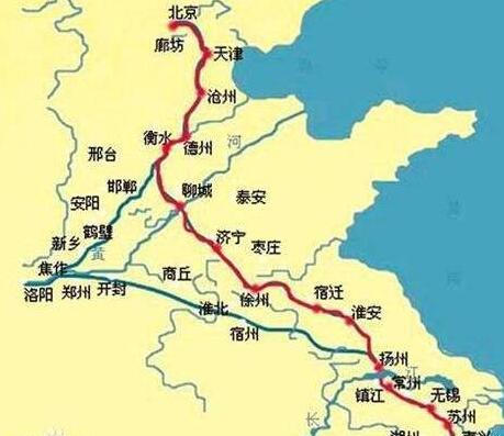 世界上最长的运河:京杭大运河,1797公里(申遗成功)