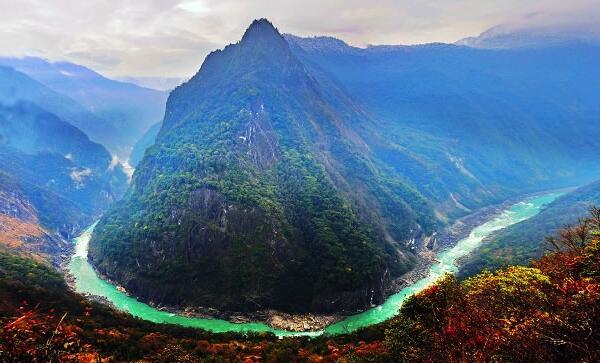 世界上最大的峡谷:雅鲁藏布大峡谷(被称打开地球的钥匙孔)