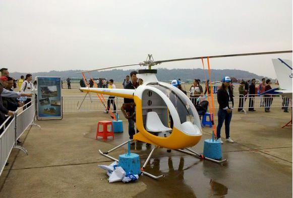 世界上最便宜的直升机:仅30万,没有驾照一样能开上天
