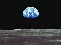 从月亮上看地球好恐怖,月球上看地球是什么样?