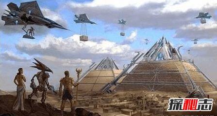 埃及金字塔是谁建造的图片