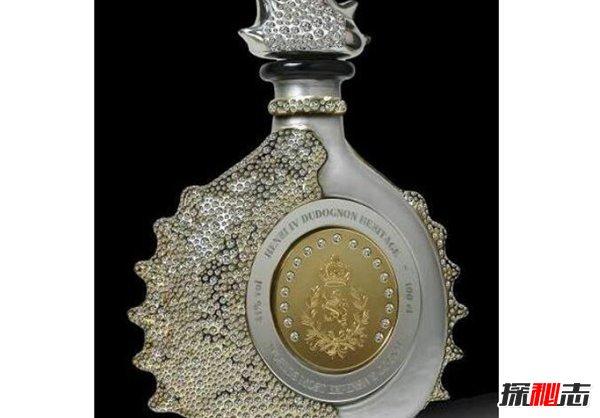 世界十大奢侈名酒 第一瓶子鑲鉆價值4200萬元