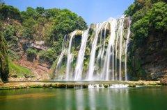 中国最大的瀑布:黄果树瀑布,享有中华第一瀑的美称