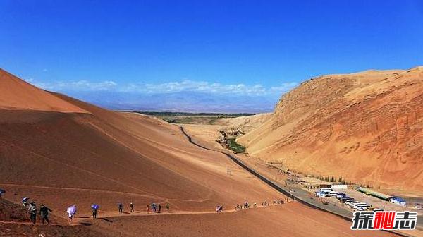 世界上最低的盆地:吐鲁番盆地,-154米,平均气温38℃