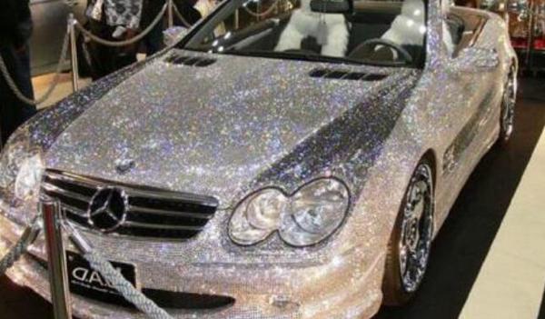 285億的鉆石車真相揭秘 世界上真的有鉆石跑車