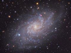 三角星系是个什么样的星系 三角星系的发现历史揭秘