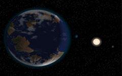 系外最宜居星球:hd40307g,距地球42光年(超级地球)