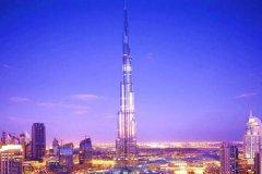 迪拜最高建筑物是多少米?总共有162层(比台北101还高)