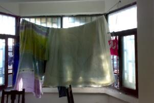 盖了很久的棉被怎么洗,拆被套清洗/晒棉花恢复松软