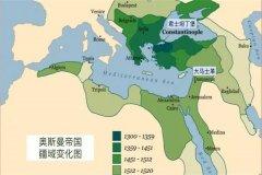 奥斯曼帝国解体40国:跟不上时代发展(被封建制度拖垮)