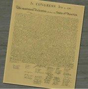 美国独立宣言是谁起草的:托马斯·杰斐逊起草(革命性纲领)
