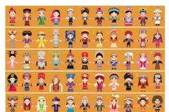 少数民族的传统节日有哪些:五十六个民族五十六个家