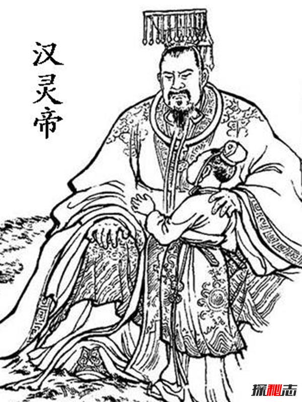 皇帝手绘图片大全