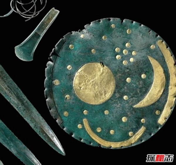 德国内布拉神奇星象盘之谜,将预测下一次月食的发生(距今3600年)