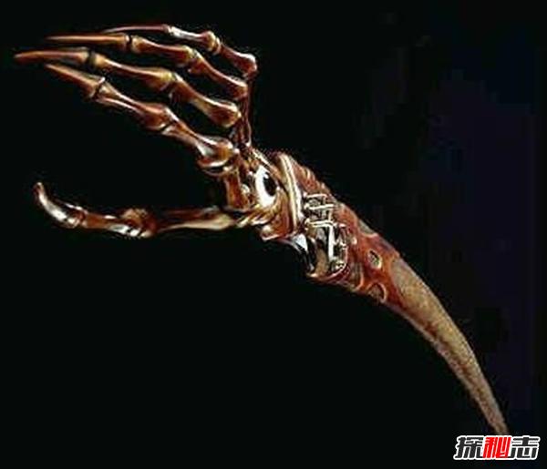 世界上最诡异的十把刀,每把刀都很邪乎!