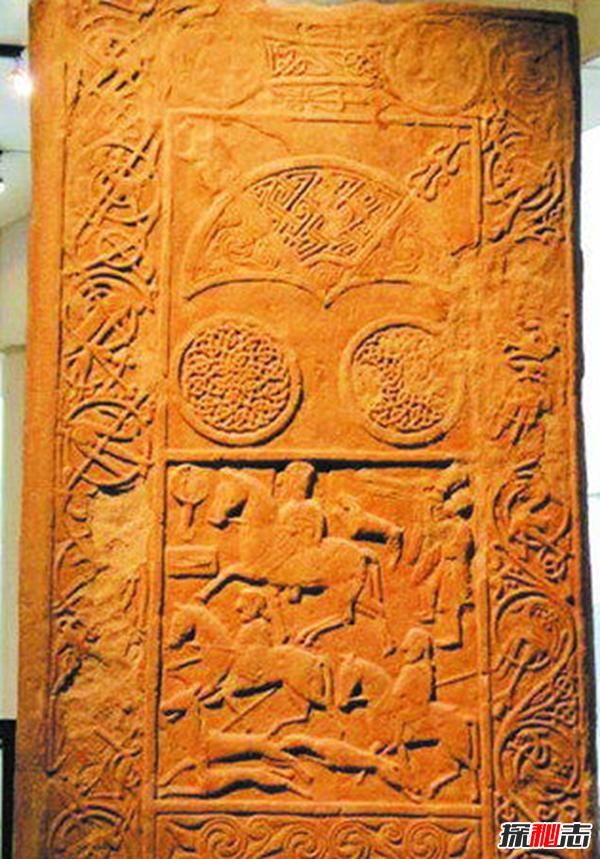 皮克特石碑之谜,石碑上刻的符号代表什么?(复杂语言或圣像雕塑)