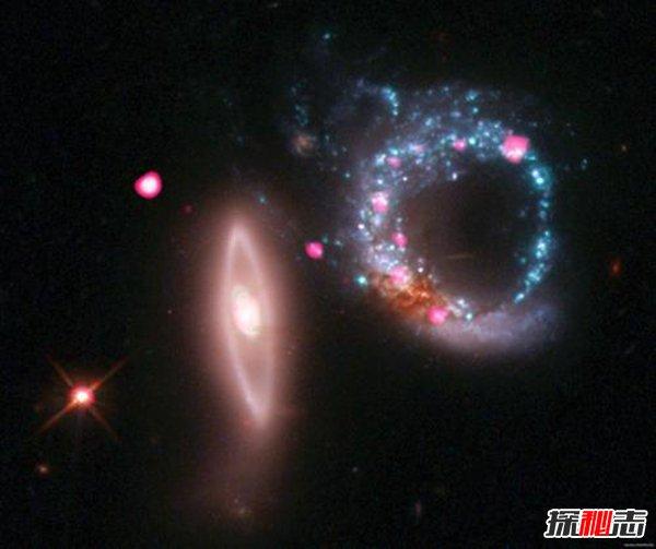 """戒指星系之谜,很可能是通往另一个宇宙的""""星门"""""""